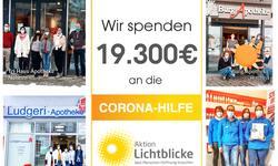 Unsere Spendenaktion an die Aktion Lichtblicke
