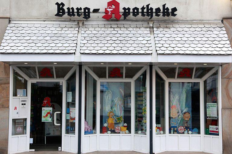 Die Burg-Apotheke bis 2012